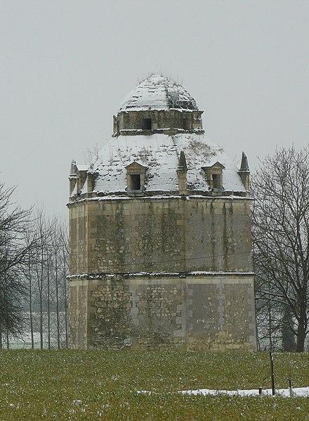 Photo du Monument Historique Ancien château de Roncée situé à Panzoult
