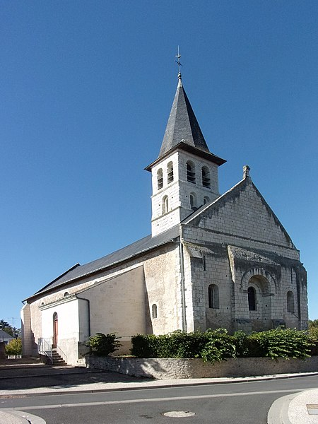 Photo du Monument Historique Eglise paroissiale Saint-Pierre situé à Perrusson