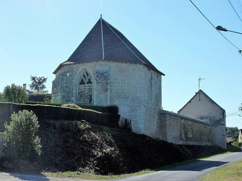 Photo du Monument Historique Ancien prieuré de Saint-Genest situé à Perrusson