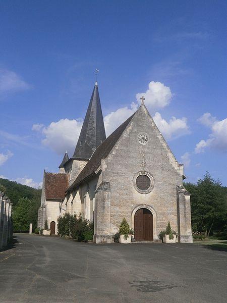 Photo du Monument Historique Eglise paroissiale Saint-Pierre situé à Le Petit-Pressigny