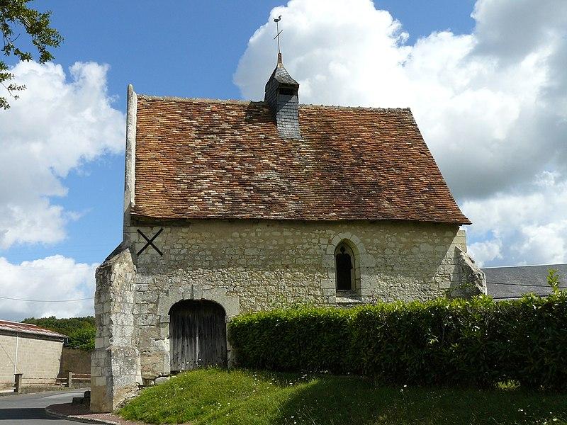 Photo du Monument Historique Chapelle de Tous-les-Saints situé à Preuilly-sur-Claise