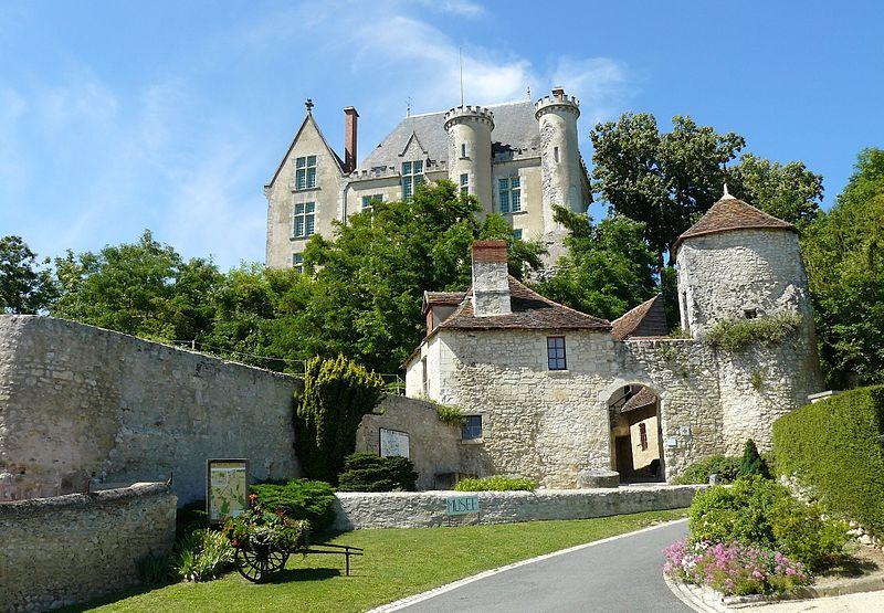 Photo du Monument Historique Château des Lions situé à Preuilly-sur-Claise