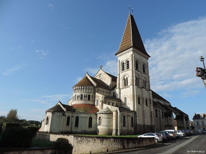 Photo du Monument Historique Eglise abbatiale bénédictine Saint-Pierre situé à Preuilly-sur-Claise