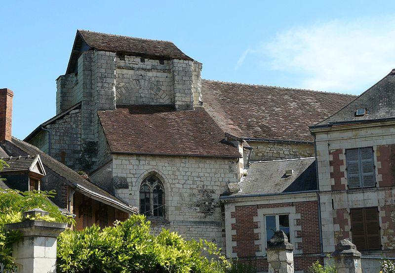 Photo du Monument Historique Ancienne église Notre-Dame-des-Echelles situé à Preuilly-sur-Claise