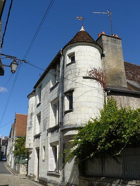 Photo du Monument Historique Ancien Hôtel de ville situé à Preuilly-sur-Claise