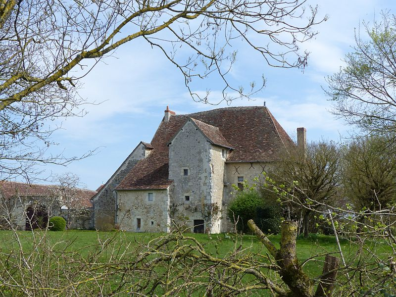Photo du Monument Historique Manoir du Pouët situé à Preuilly-sur-Claise