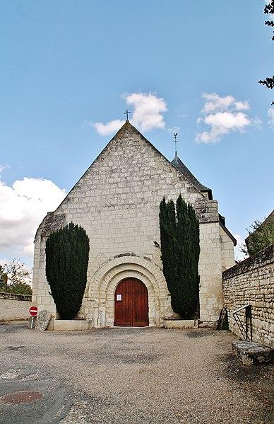 Photo du Monument Historique Eglise paroissiale Saint-Clair situé à Pussigny