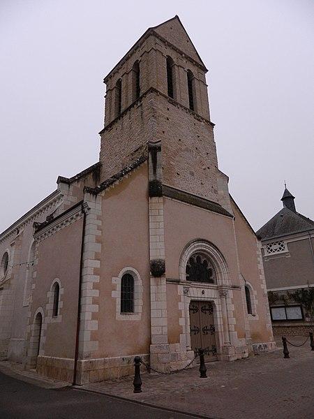 Photo du Monument Historique Eglise paroissiale Saint-Etienne situé à Reignac-sur-Indre