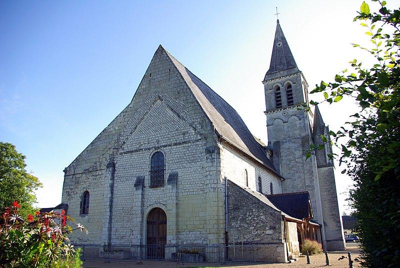 Photo du Monument Historique Eglise Saint-Martin situé à Restigné