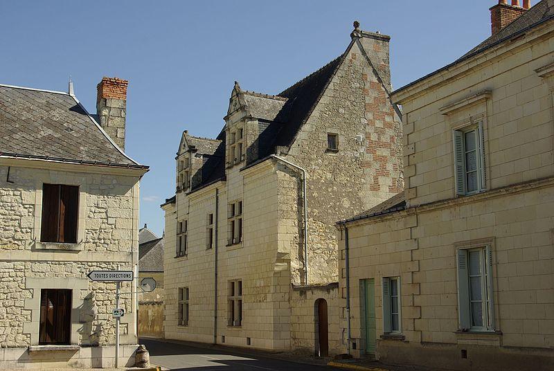 Photo du Monument Historique Hôtel du 16e siècle situé à Restigné