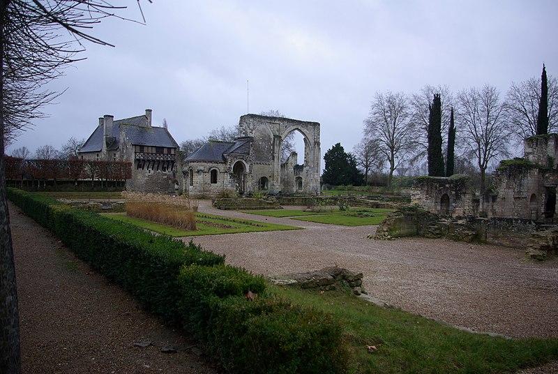 Photo du Monument Historique Ancien prieuré de Saint-Cosme situé à La Riche