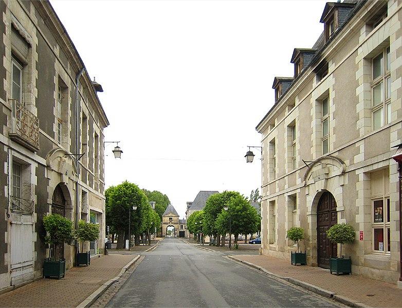 Photo du Monument Historique Maisons situé à Richelieu