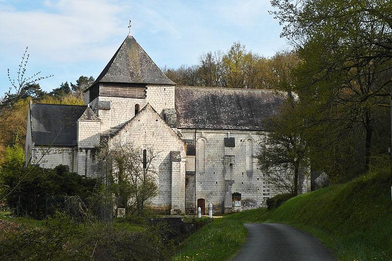 Photo du Monument Historique Ancienne église Notre-Dame situé à Rigny-Ussé