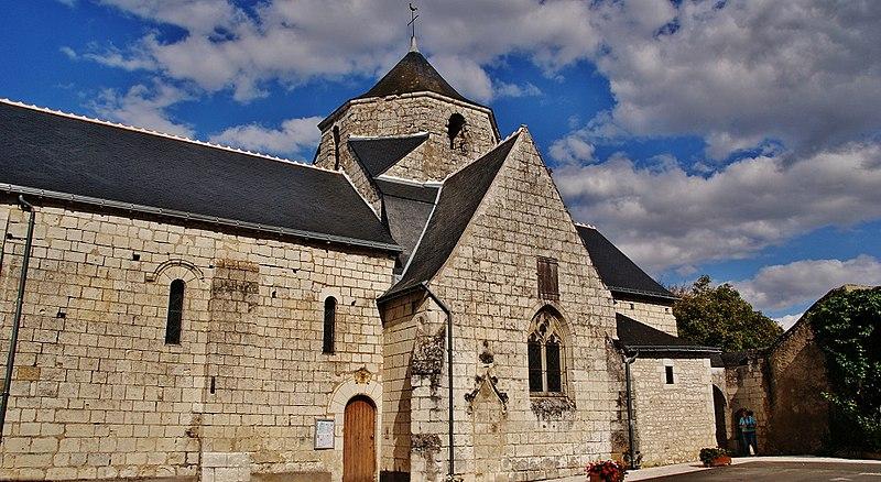 Photo du Monument Historique Eglise paroissiale Saint-Martin situé à Rilly-sur-Vienne