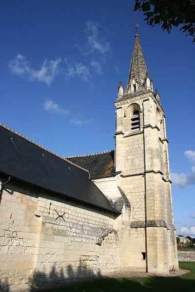 Photo du Monument Historique Eglise paroissiale Saint-Martin situé à La Roche-Clermault