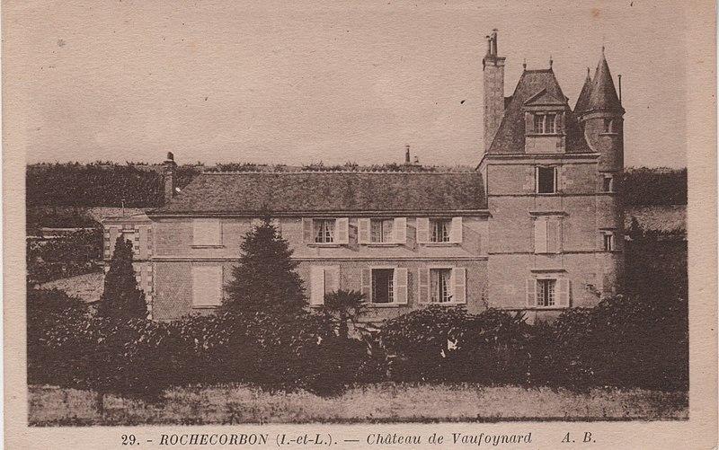 Photo du Monument Historique Château de Vaufoinard situé à Rochecorbon