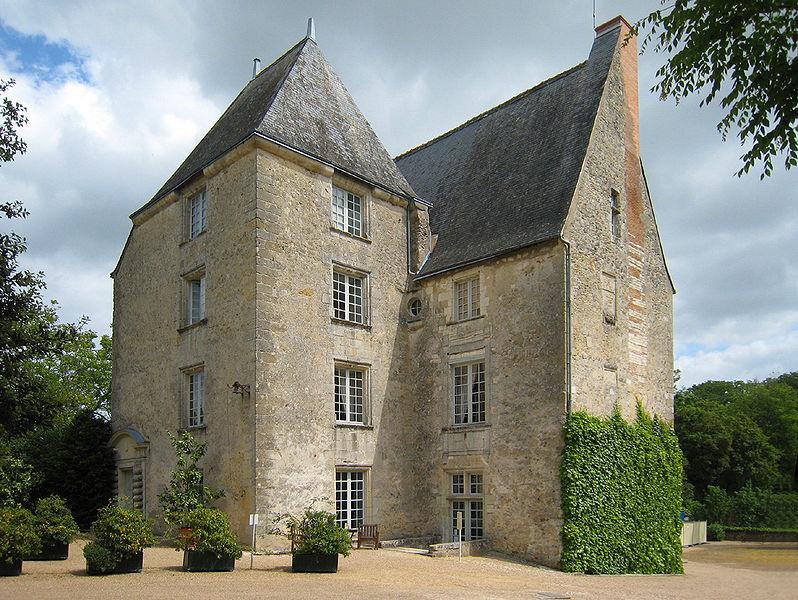 Photo du Monument Historique Château, actuellement Musée Balzac situé à Saché