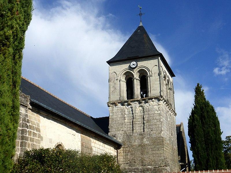 Photo du Monument Historique Eglise Saint-Martin de Vertou situé à Saché