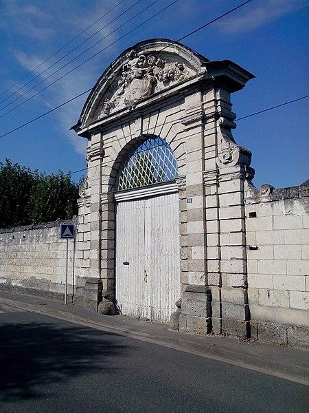 Photo du Monument Historique Manoir de la Sagerie situé à Saint-Avertin