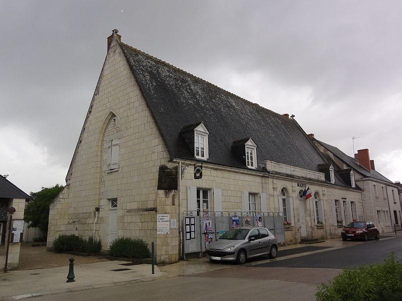 Photo du Monument Historique Ancienne aumônerie situé à Sainte-Catherine-de-Fierbois