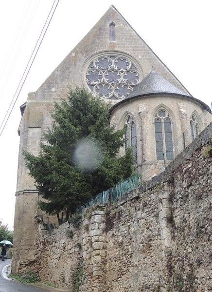 Photo du Monument Historique Eglise paroissiale Saint-Christophe situé à Saint-Christophe-sur-le-Nais