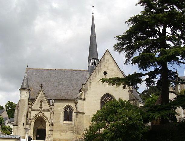 Photo du Monument Historique Eglise paroissiale Saint-Cyr et Sainte-Julitte situé à Saint-Cyr-sur-Loire