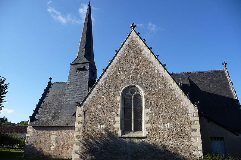 Photo du Monument Historique Eglise paroissiale Saint-Etienne situé à Saint-Etienne-de-Chigny
