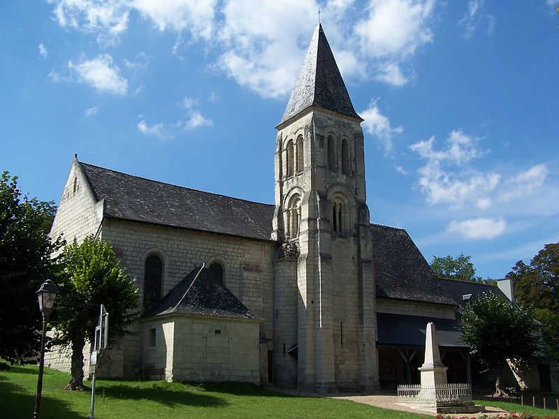 Photo du Monument Historique Eglise paroissiale Saint-Germain situé à Saint-Germain-sur-Vienne