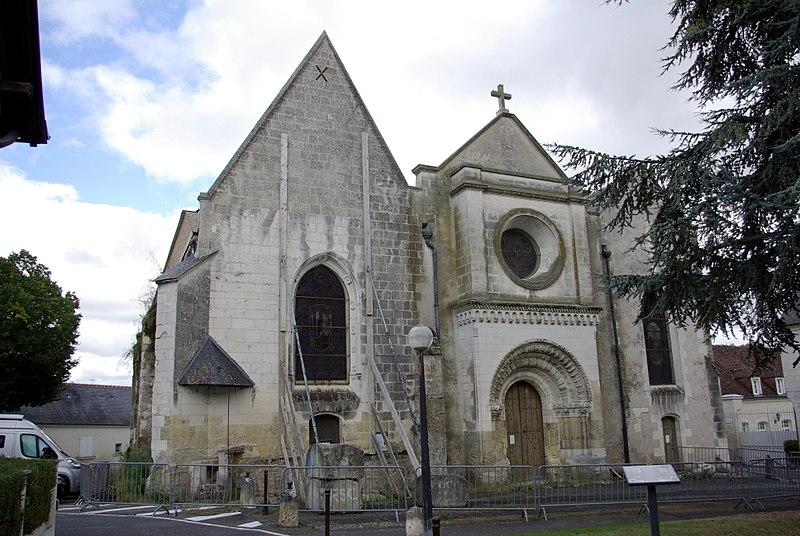 Photo du Monument Historique Eglise paroissiale Saint-Martin situé à Saint-Martin-le-Beau