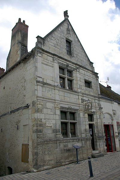 Photo du Monument Historique Manoir de Thomas Boyer situé à Saint-Martin-le-Beau