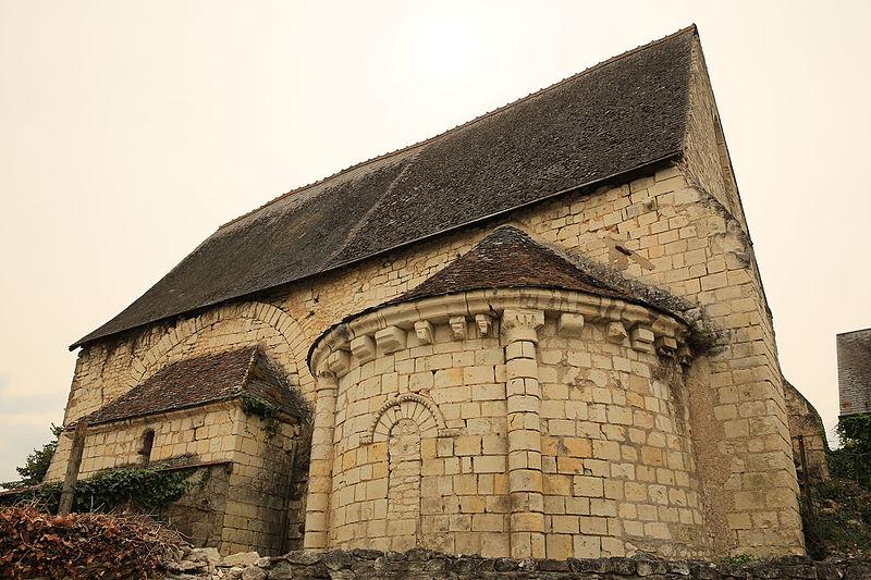 Photo du Monument Historique Ancienne chapelle priorale Saint-Mesmin situé à Sainte-Maure-de-Touraine