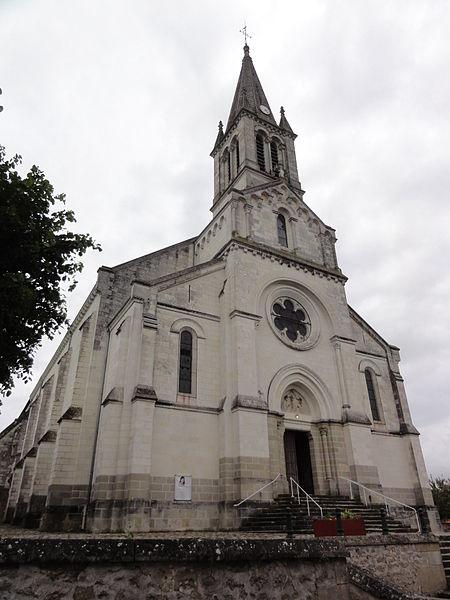 Photo du Monument Historique Eglise paroissiale Saint-Blaise situé à Sainte-Maure-de-Touraine