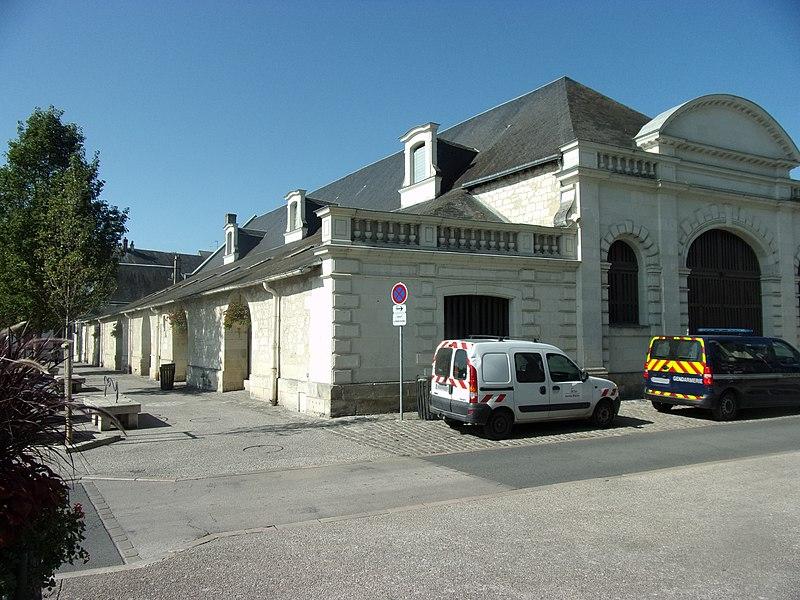 Photo du Monument Historique Halles situé à Sainte-Maure-de-Touraine