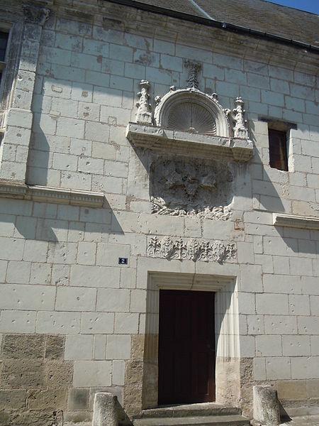 Photo du Monument Historique Maison du 16e siècle situé à Sainte-Maure-de-Touraine