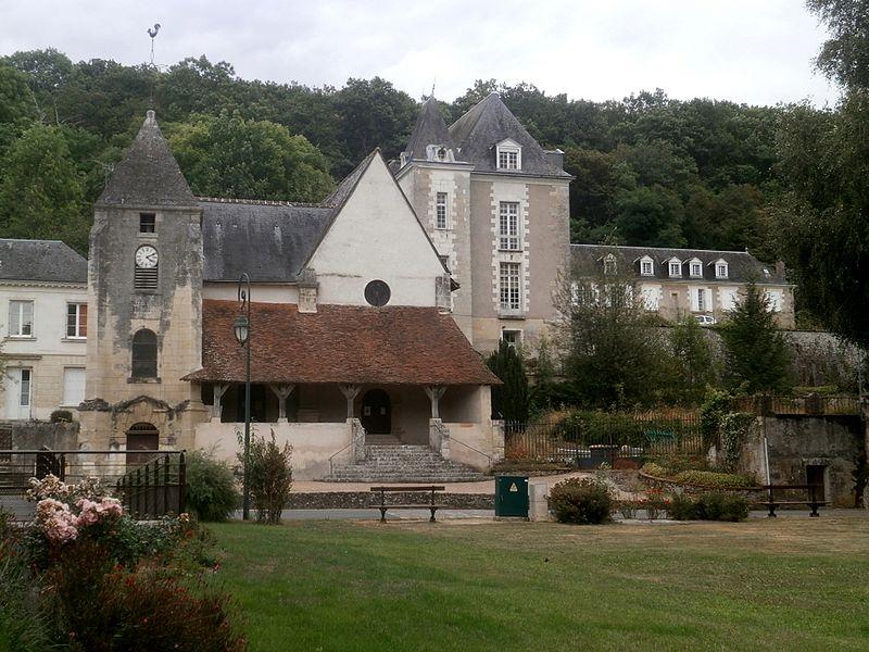 Photo du Monument Historique Eglise paroissiale Saint-Ouen situé à Saint-Ouen-les-Vignes