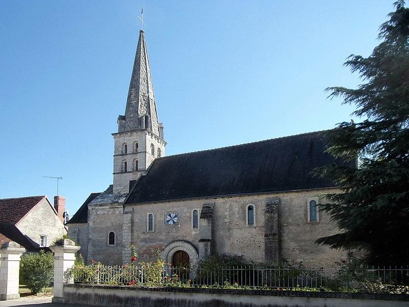 Photo du Monument Historique Eglise paroissiale Saint-Leubais situé à Sennevières