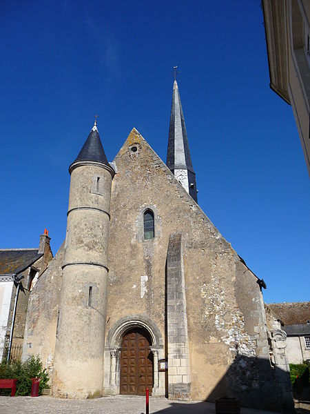 Photo du Monument Historique Eglise paroissiale Saint-Michel situé à Souvigné