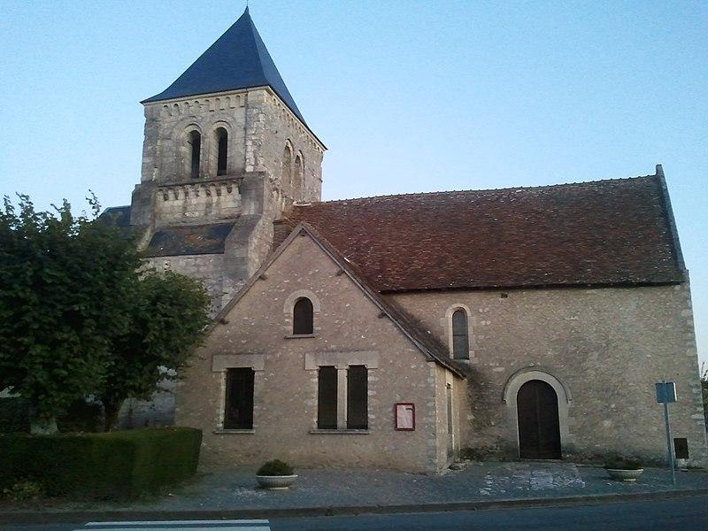 Photo du Monument Historique Eglise paroissiale Saint-Martin situé à Sublaines