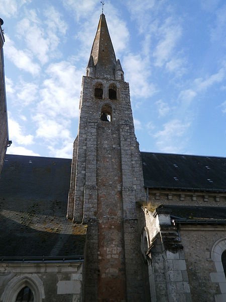 Photo du Monument Historique Eglise paroissiale Saint-Martin situé à Tauxigny