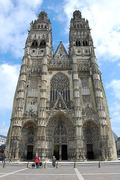 Photo du Monument Historique Cathédrale Saint-Gatien situé à Tours