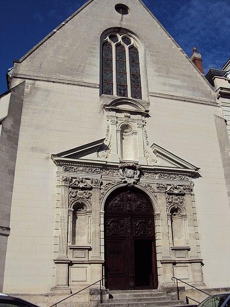 Photo du Monument Historique Chapelle des Minimes situé à Tours
