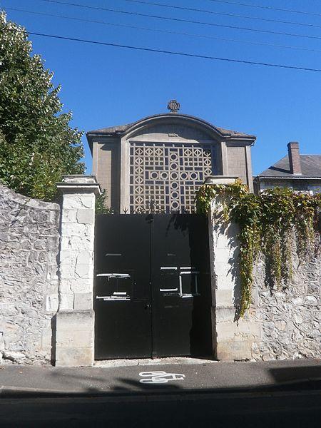 Photo du Monument Historique Ancien couvent des Capucins situé à Tours