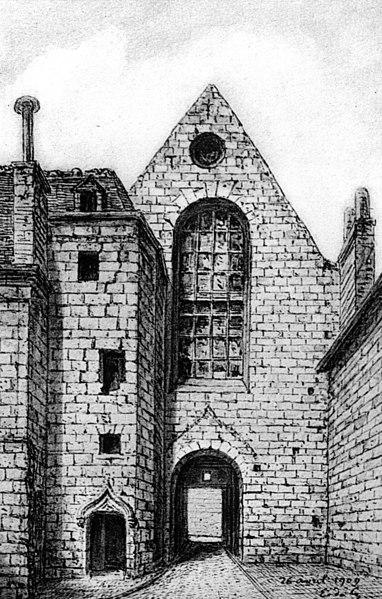 Photo du Monument Historique Ancien couvent des Carmes situé à Tours