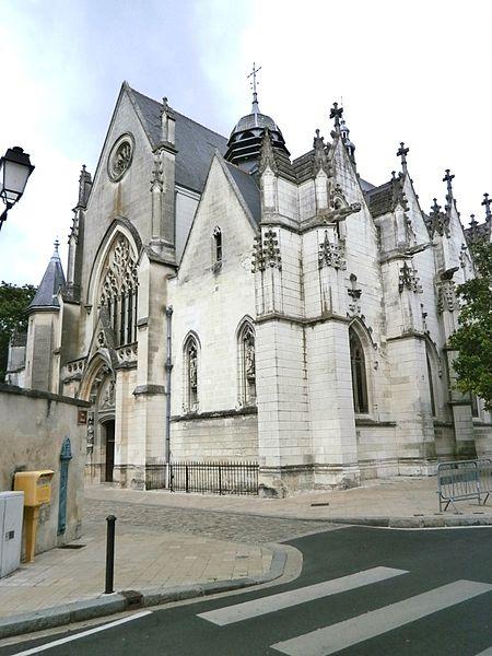 Photo du Monument Historique Eglise paroissiale Notre-Dame-la-Riche situé à Tours