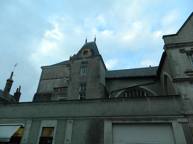 Photo du Monument Historique Ancienne église Sainte-Croix situé à Tours