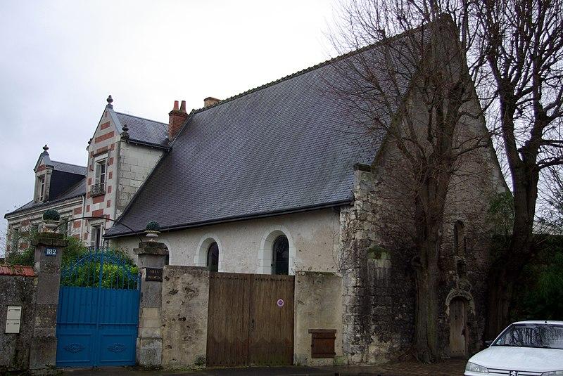 Photo du Monument Historique Ancienne église Saint-Jean-de-Beaumont situé à Tours