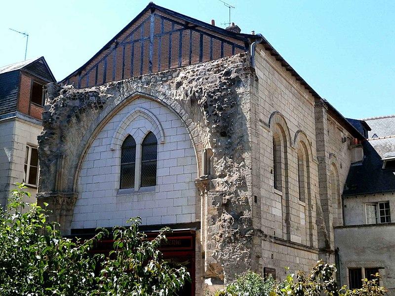 Photo du Monument Historique Ancienne église Saint-Pierre-le-Puellier situé à Tours