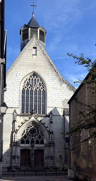 Photo du Monument Historique Eglise Saint-Saturnin (ancienne église des Carmes) situé à Tours