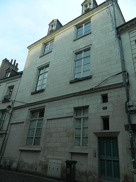 Photo du Monument Historique Hôtel Cottereau situé à Tours