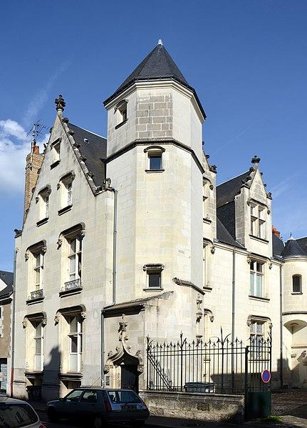 Photo du Monument Historique Hôtel situé à Tours